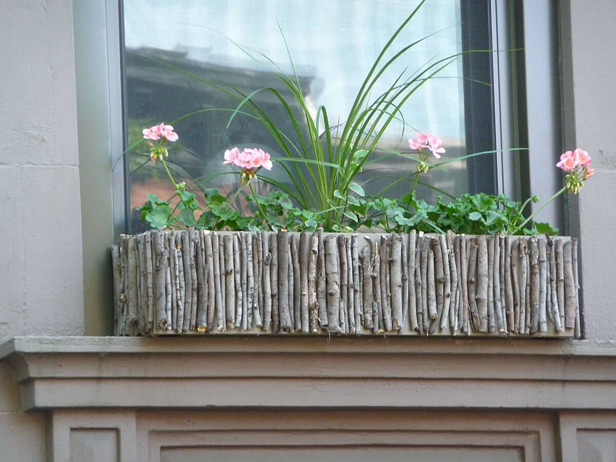 Una finestra in fiori