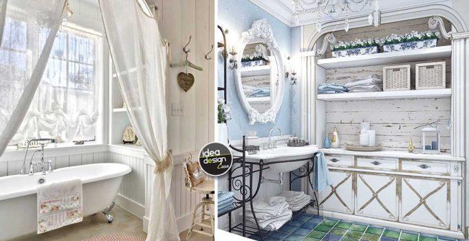 Il bagno in stile provenzale 15 splendide idee per ispirarvi - Bagno stile provenzale ...