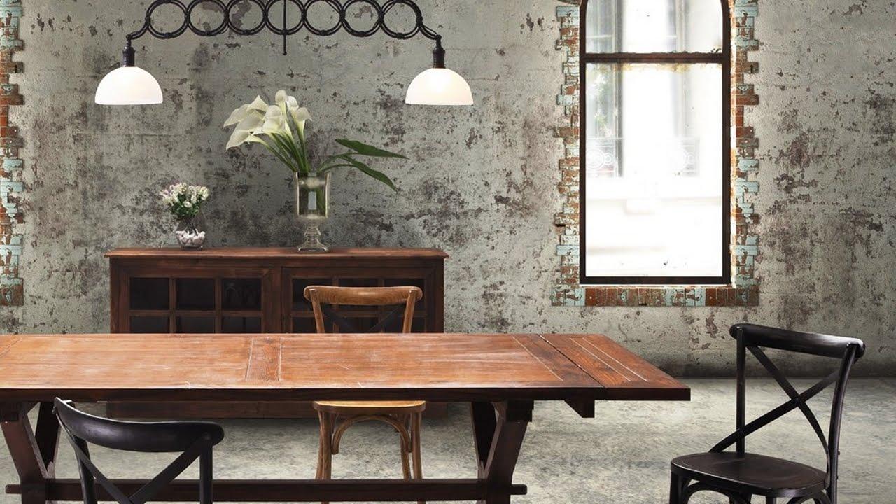La sala da pranzo industriale