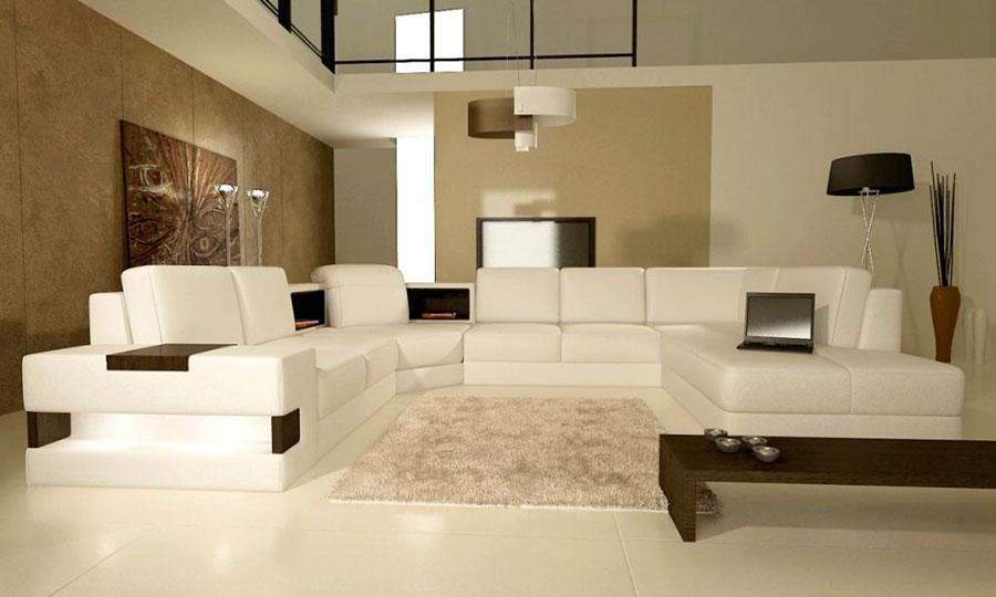 Colori pareti in un salotto moderno 15 idee per non for Dipingere soggiorno idee