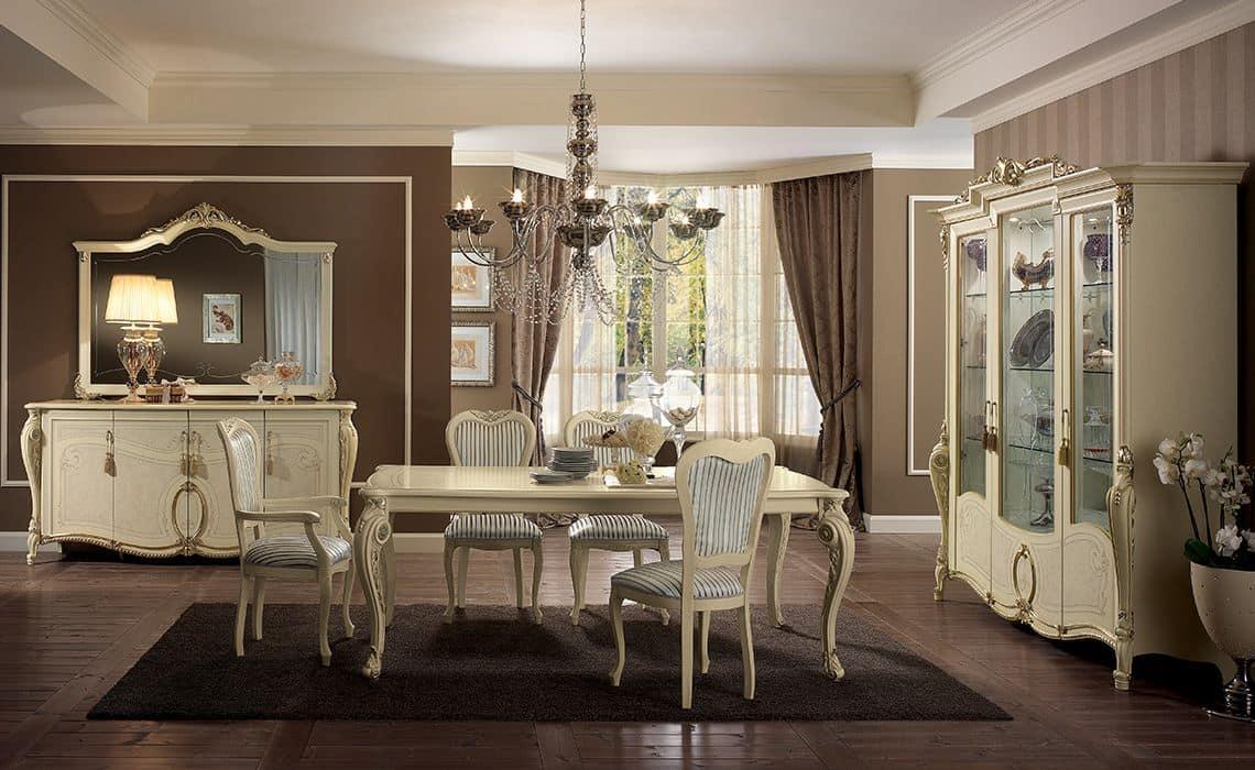 Sale Da Pranzo Classiche Usate.La Sala Da Pranzo Neo Classica 15 Idee Per Ispirarsi Buona