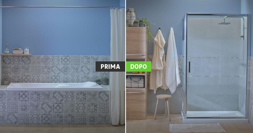 Trasformare la vasca in doccia: tante idee e soluzioni per il tuo bagno!