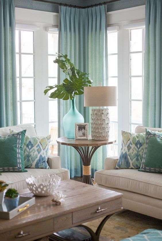 Arredare con le tende d 39 estate ecco 17 idee per la casa che vi ispireranno - Idee per le tende ...
