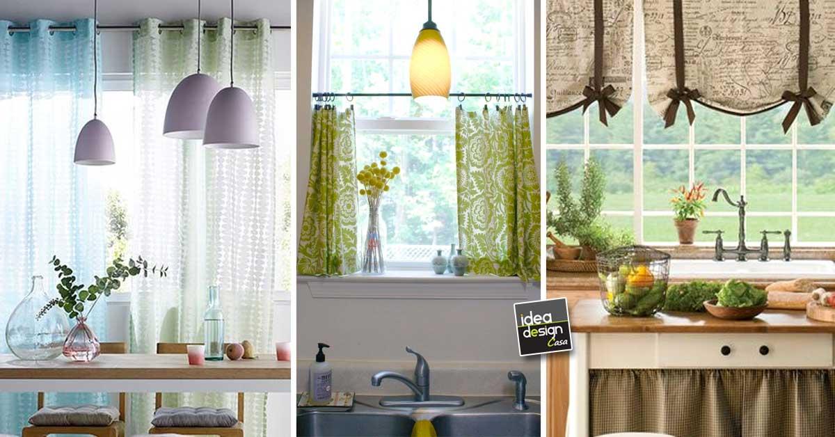 Arredare con le tende d 39 estate ecco 17 idee per la casa - Tende per arredare casa ...
