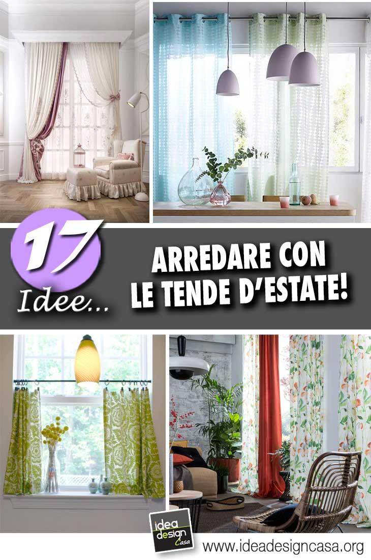 Arredare Casa Con Le Tende.Arredare Con Le Tende D Estate Ecco 17 Idee Per La Casa Che