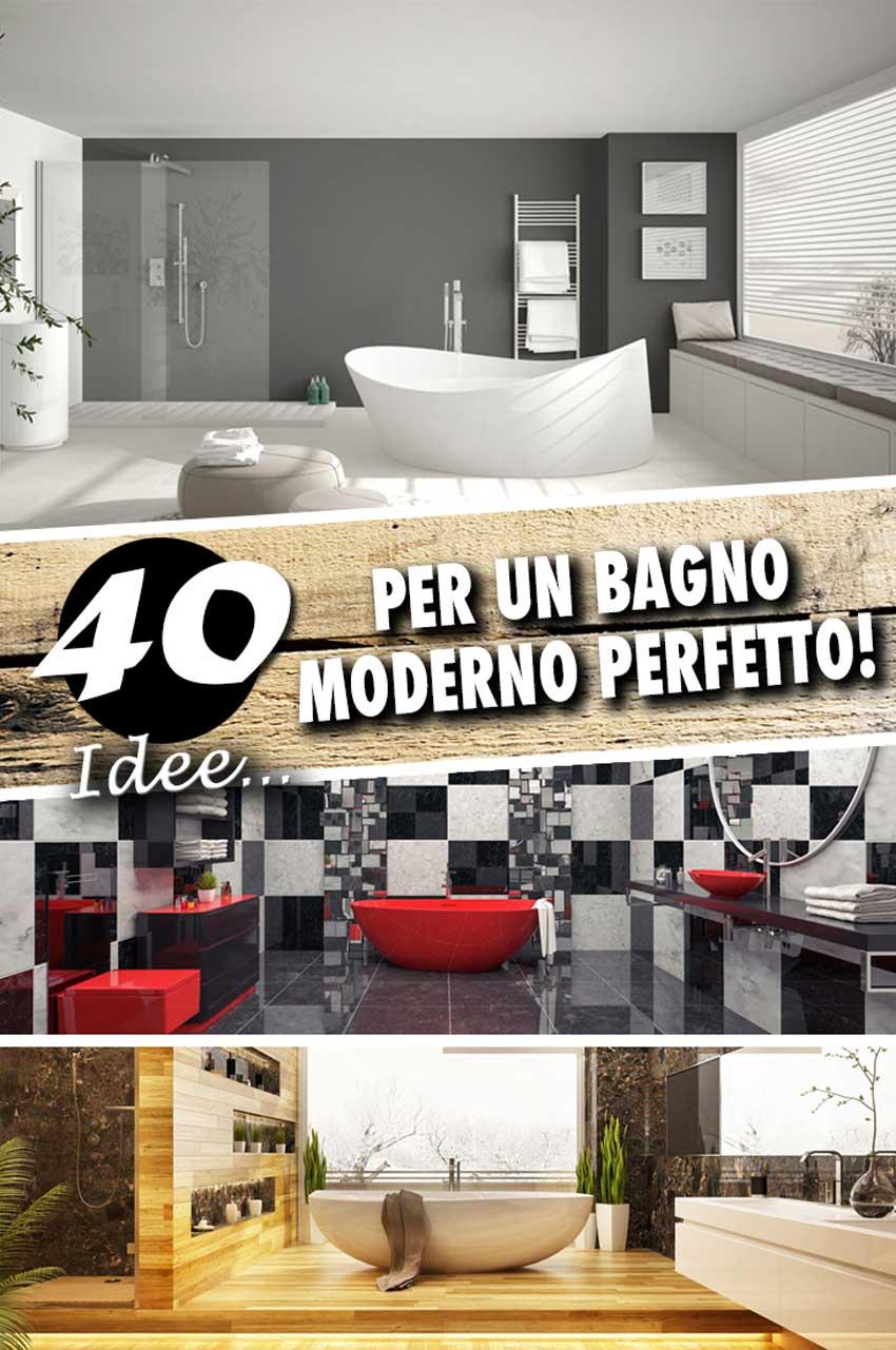 Idee Per Rivestimenti Bagni Moderni.Bagni Moderni 40 Idee Di Arredo Per Un Bagno Moderno