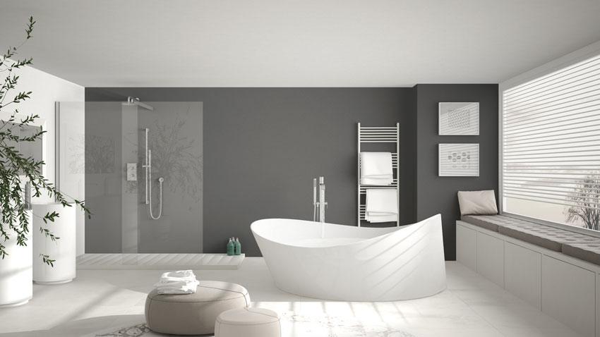 Bagni Moderni In Marmo.Bagni Moderni 40 Idee Di Arredo Per Un Bagno Moderno