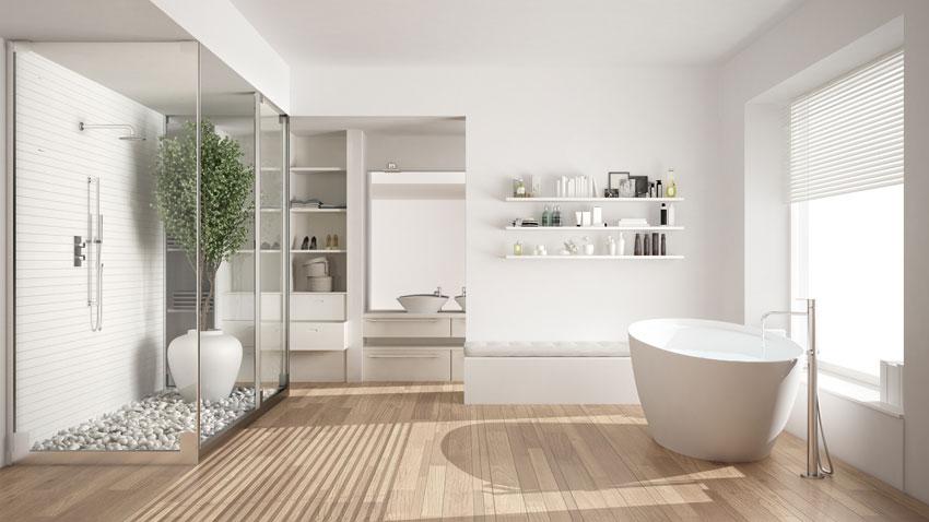 Bagni Con Vasca Moderni.Bagni Moderni 40 Idee Di Arredo Per Un Bagno Moderno