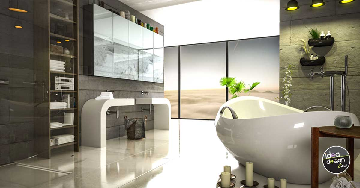Bagni moderni 40 idee di arredo per un bagno moderno for Casa moderna bagni