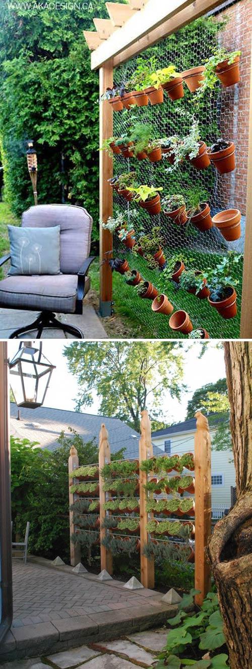 Vasi di terracotta per abbellire il giardino