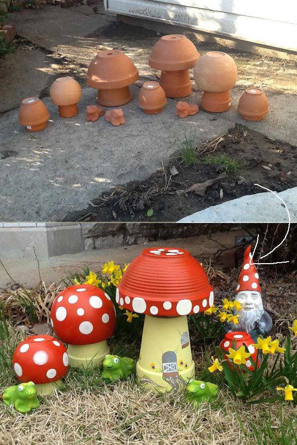 Vasi di terracotta per abbellire il giardino 15 idee da for Abbellire giardino
