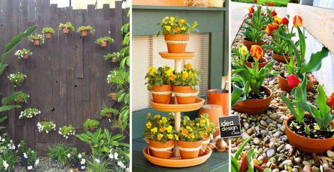 Decorazione Vasi Da Giardino : Vasi di terracotta per abbellire il giardino idee da cui