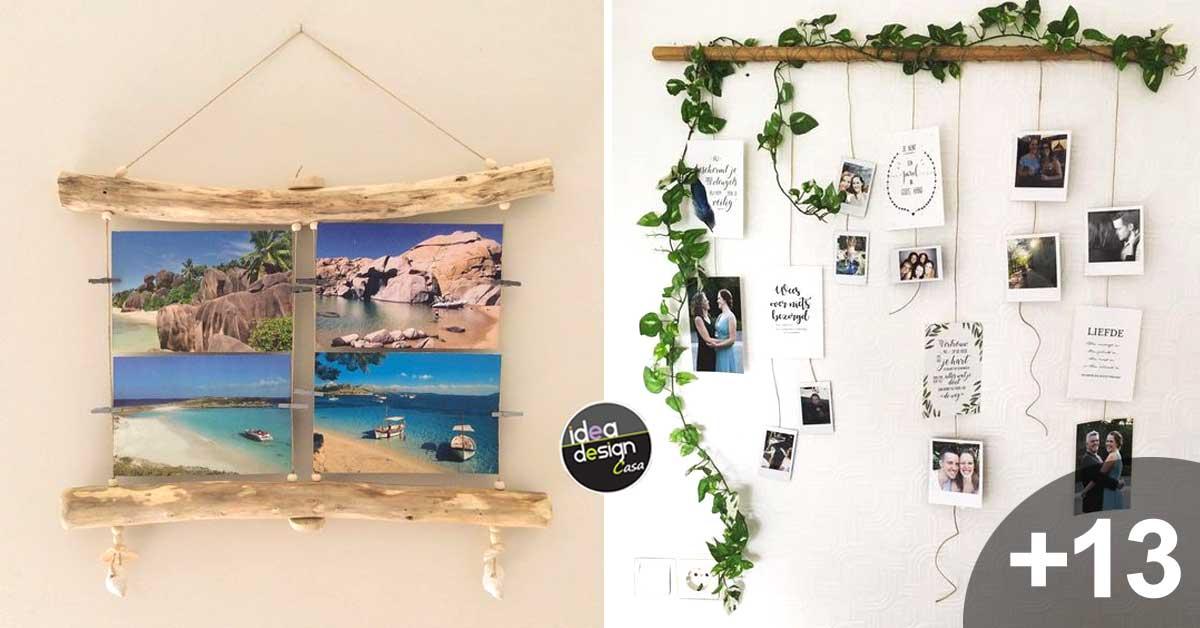 Decorare le pareti con il fai da te 15 idee che vi for Decorazioni per la casa fai da te