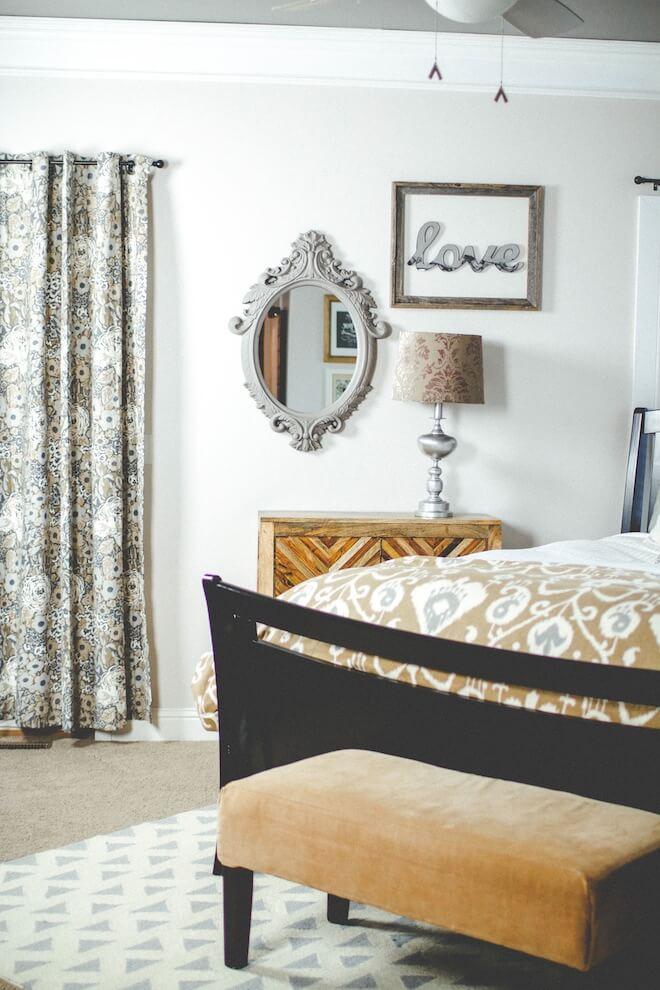 Pareti camera da letto 15 idee per decorare con stile e carattere - Decorare pareti camera ...