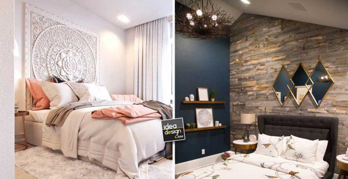 Pareti camera da letto: 15 idee per decorare con stile e carattere...