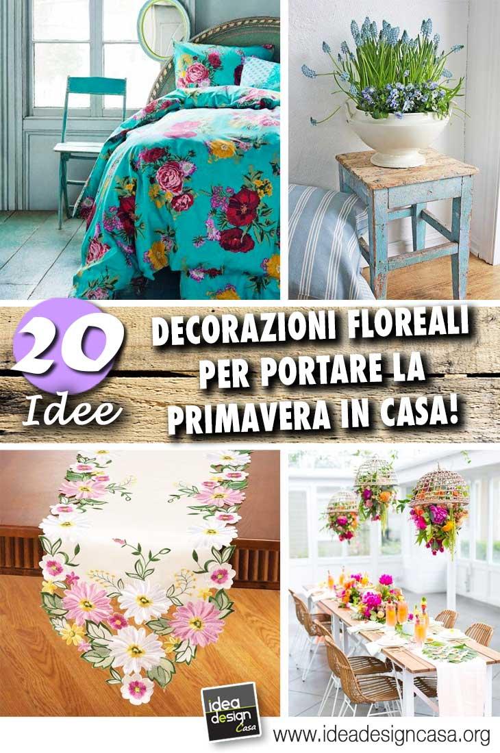 Decorazioni floreali per la casa 20 idee che vi for Decorazioni per la casa
