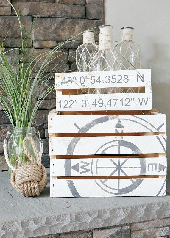 Lo stile marino in casa 20 idee fai da te che vi sorprenderanno - Decorazioni marine fai da te ...