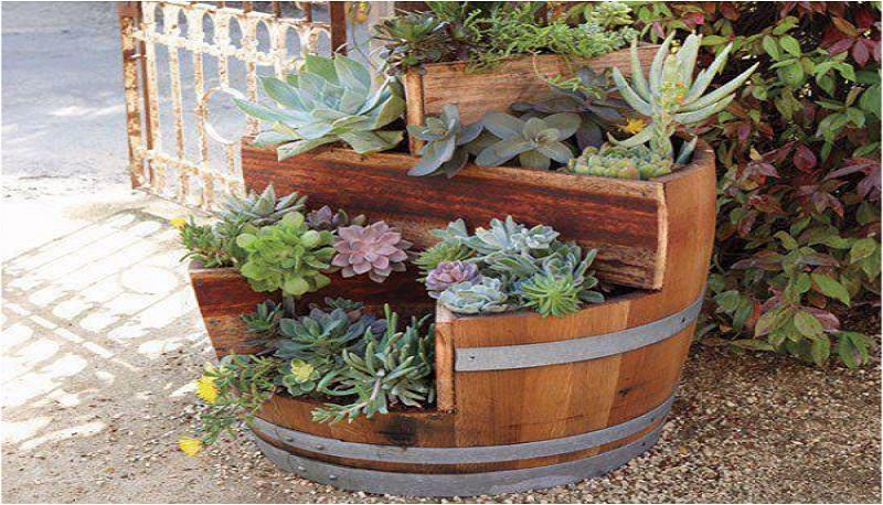 fioriera in legno fai da te 15 idee che vi ispireranno