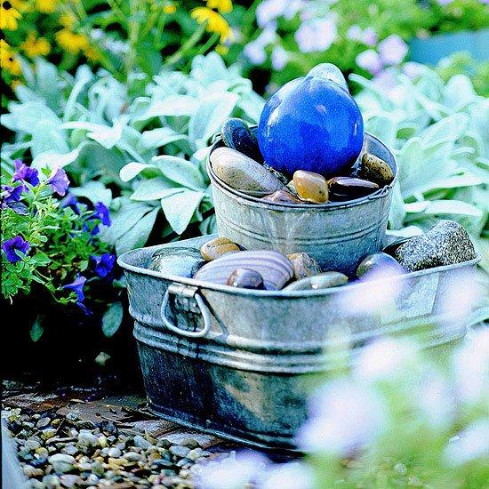 fontana da giardino decorativa