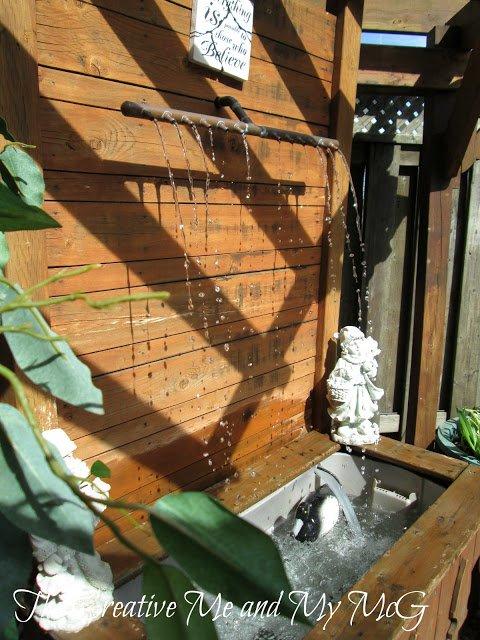 fontana decorativa giardino