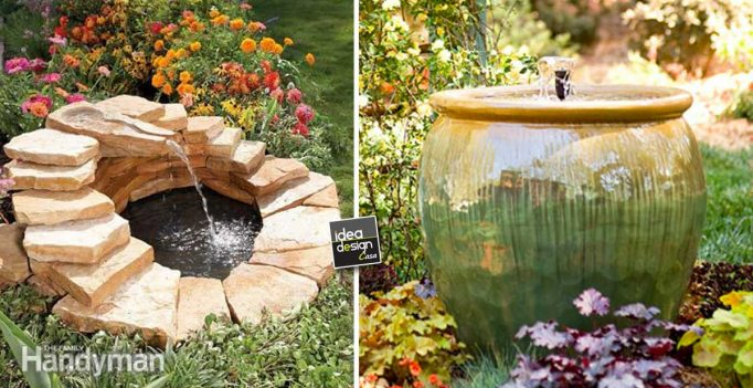 Fontana da giardino fai da te 15 idee per un casa originale ispiratevi - Idee giardino casa ...
