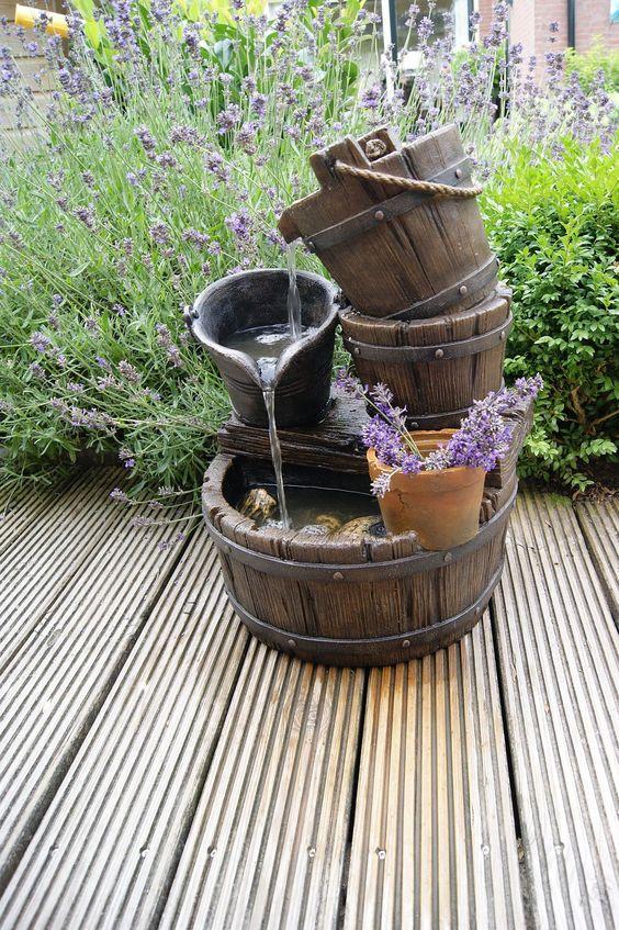 Fontane in legno