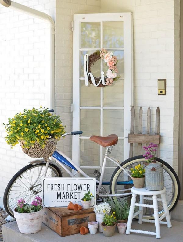 Abbellire il portico di casa con un tocco rustico 15 for Idee di portico contadini