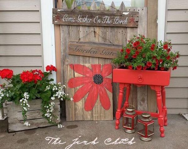 Abbellire il portico di casa con un tocco rustico 15 for Design del portico di casa