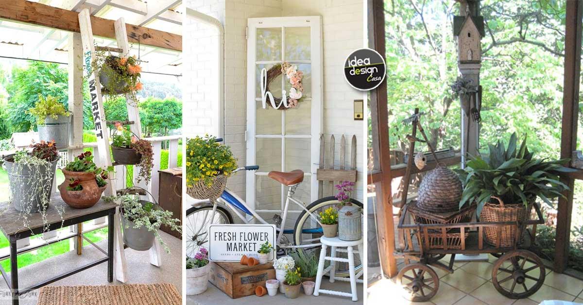 Abbellire il portico di casa con un tocco rustico 15 idee per ispirarvi - Idea design casa ...