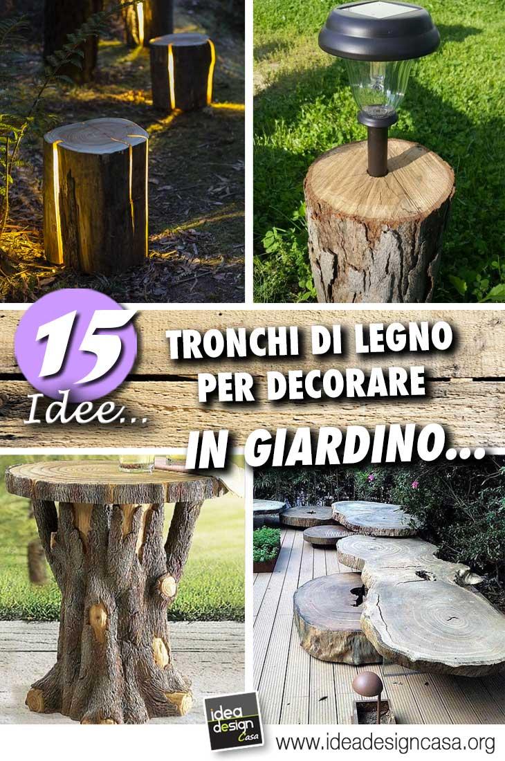 Tronchi di legno 15 bellissimi esempi fai da te per for Grandi capanne di tronchi