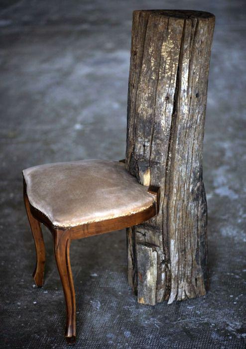 Tronchi di legno idee