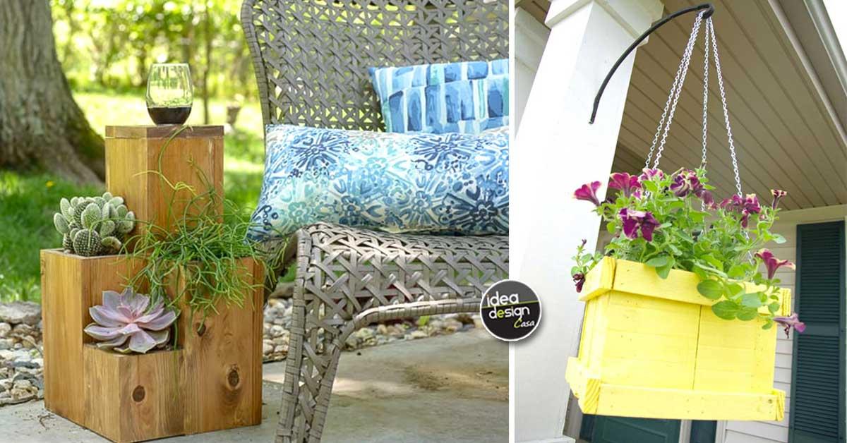Vasi da giardino fai da te per una casa unica ed originale for Design casa fai da te