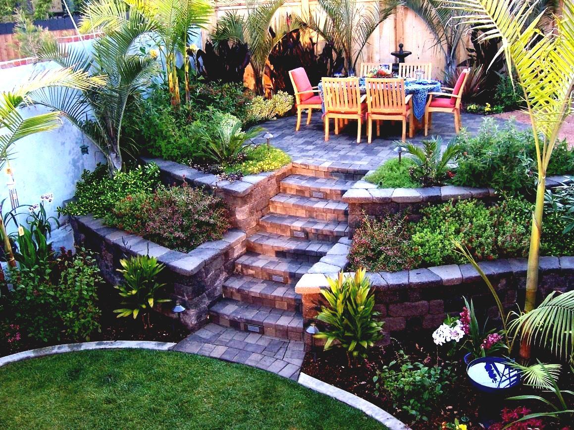 Sistemare Giardino Di Casa come arredare un giardino in pendenza? ecco 15 idee a cui