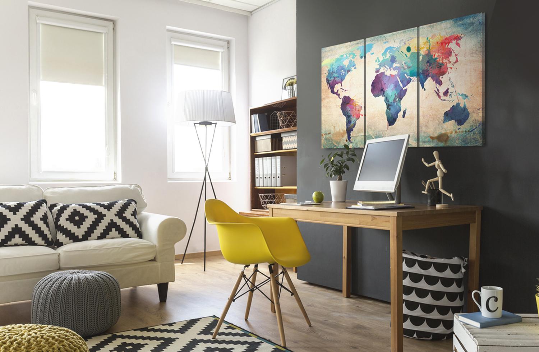 Come arredare un ufficio in casa 15 idee da cui trarre for Idee per arredare un ufficio