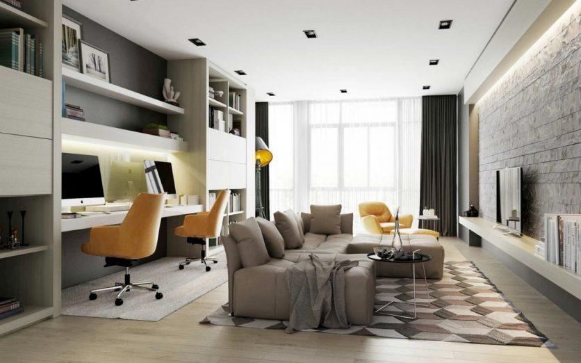 Come arredare un ufficio in casa 15 idee da cui trarre - Arredare ufficio in casa ...