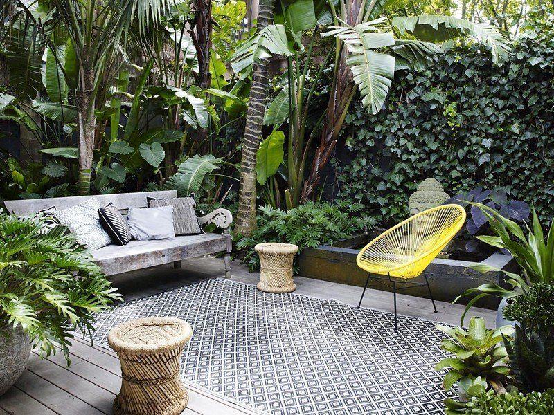 come arredare un piccolo giardino