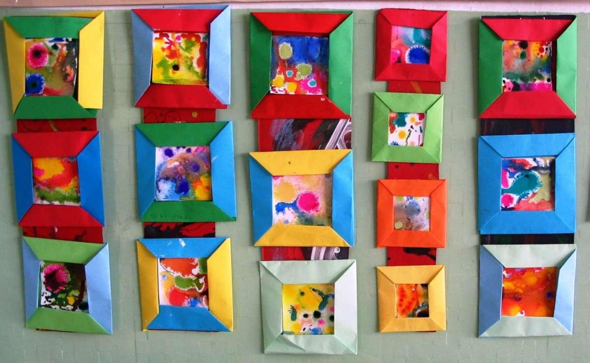 Quadretti Fai Da Te decorazioni fai da te per la cameretta dei bambini! 15 idee