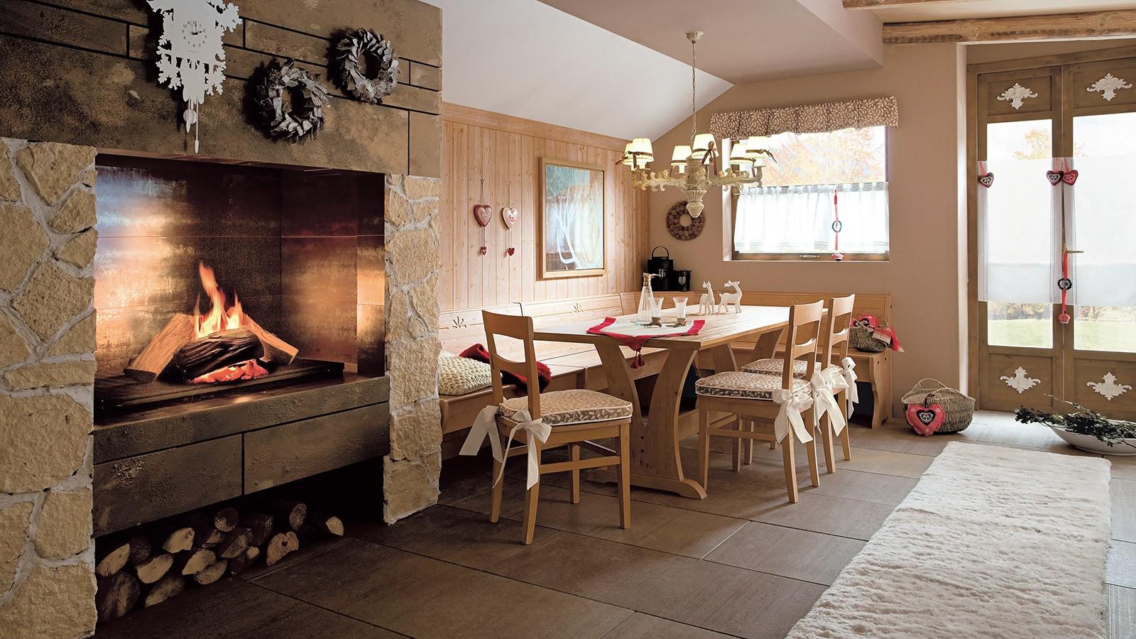 Colori Per Interni Casa Rustica idee di arredo casa. cheap arredamento naturale tavolino da