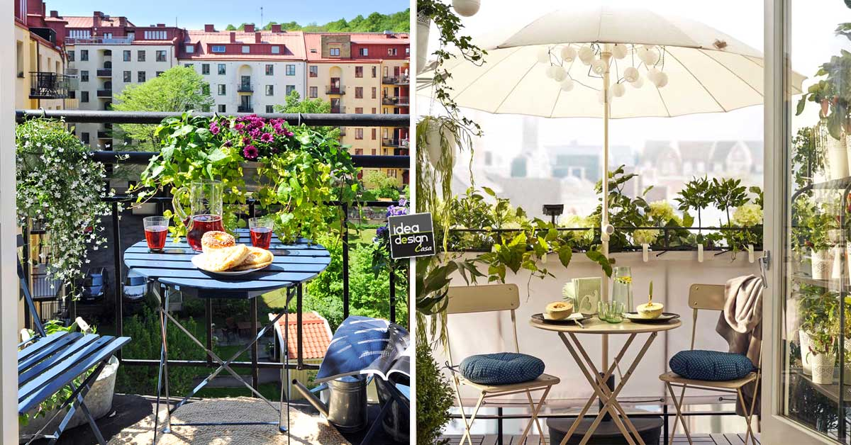 Colazione sul balcone 17 idee per godersi la mattina ispiratevi - Idea design casa ...