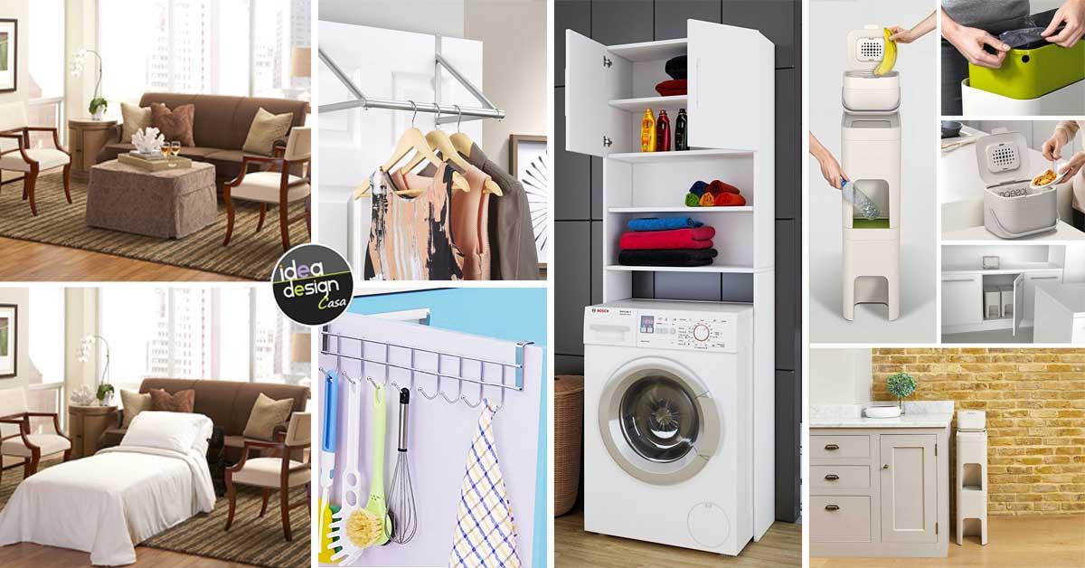 Arredi salvaspazio per un piccolo appartamento ecco 20 for Appartamento design per la casa