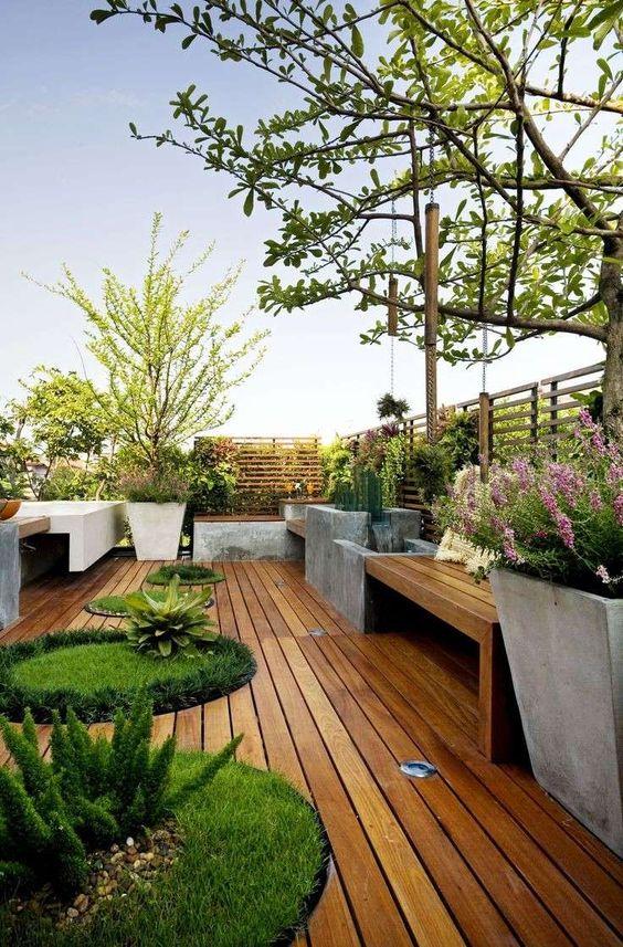 Ispirazione per arredare la terrazza! Lasciatevi incantare da queste ...