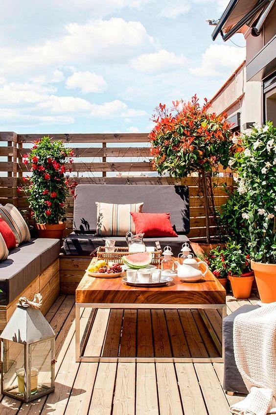 ispirazione per arredare la terrazza lasciatevi incantare