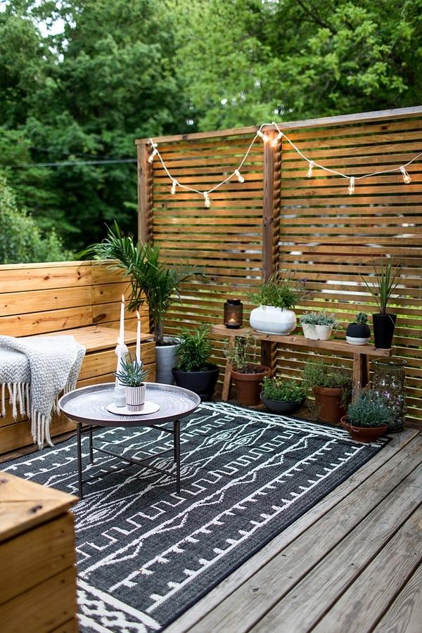 Ispirazione per arredare la terrazza! Lasciatevi incantare ...