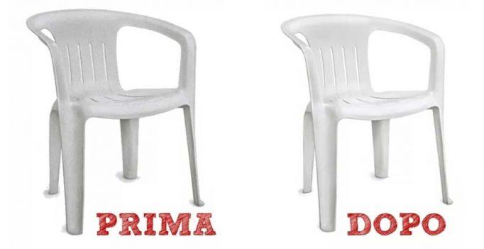 Pulire e rinnovare le sedie di plastica! Ecco 6 suggerimenti...