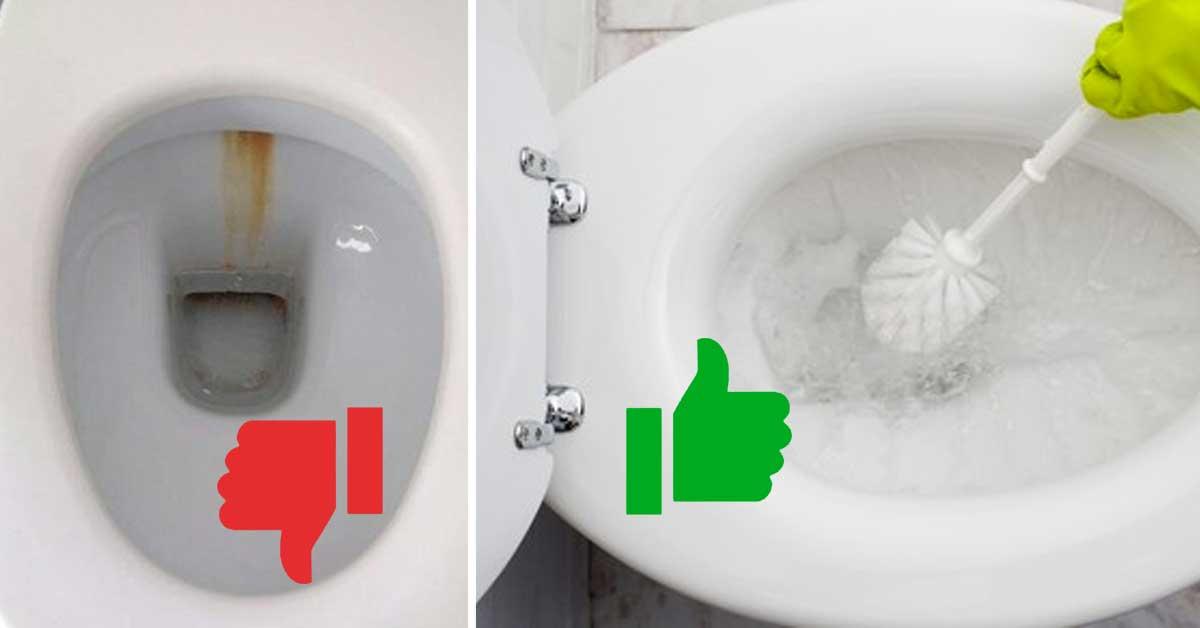 watch 94761 19ce8 Come sbiancare il WC ingiallito! Ecco 4 soluzioni fai da te...