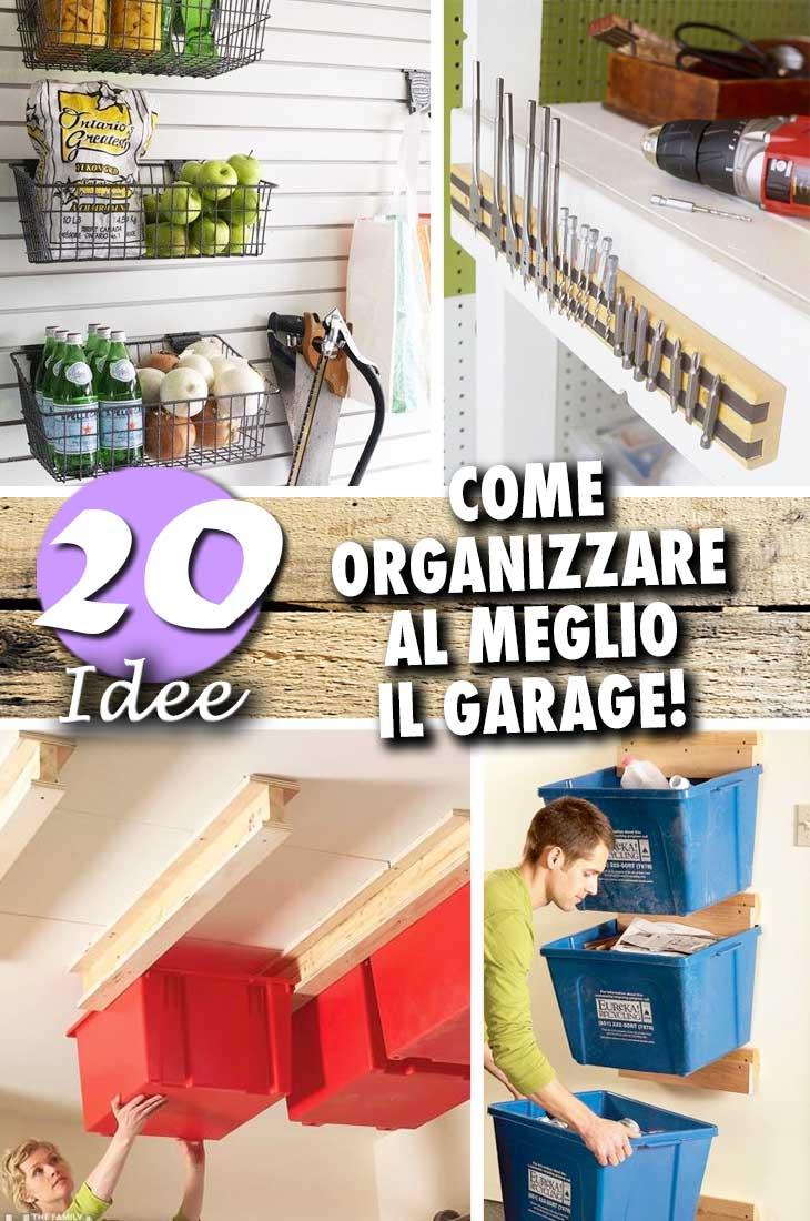 Idee Garage Fai Da Te come organizzare lo spazio in garage: ecco 20 idee e