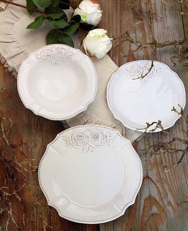 Set piatti in stile Provenzale Shabby chic