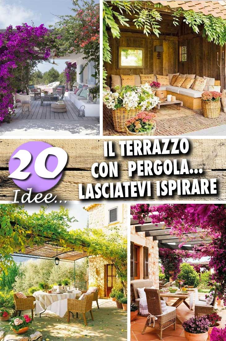 Un terrazzo con pergola 20 idee per creare un riparo da for Case da sogno a buon mercato