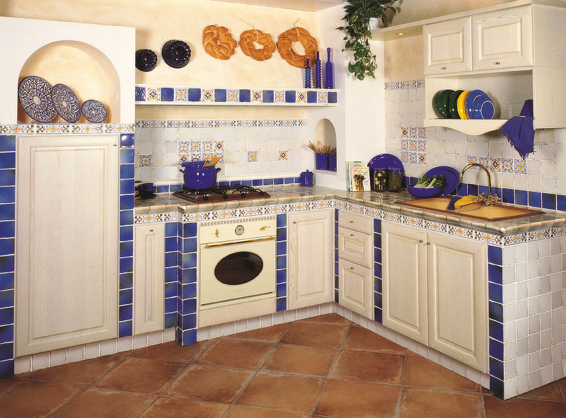 Piastrelle cucina al mare cucina in muratura u idee per