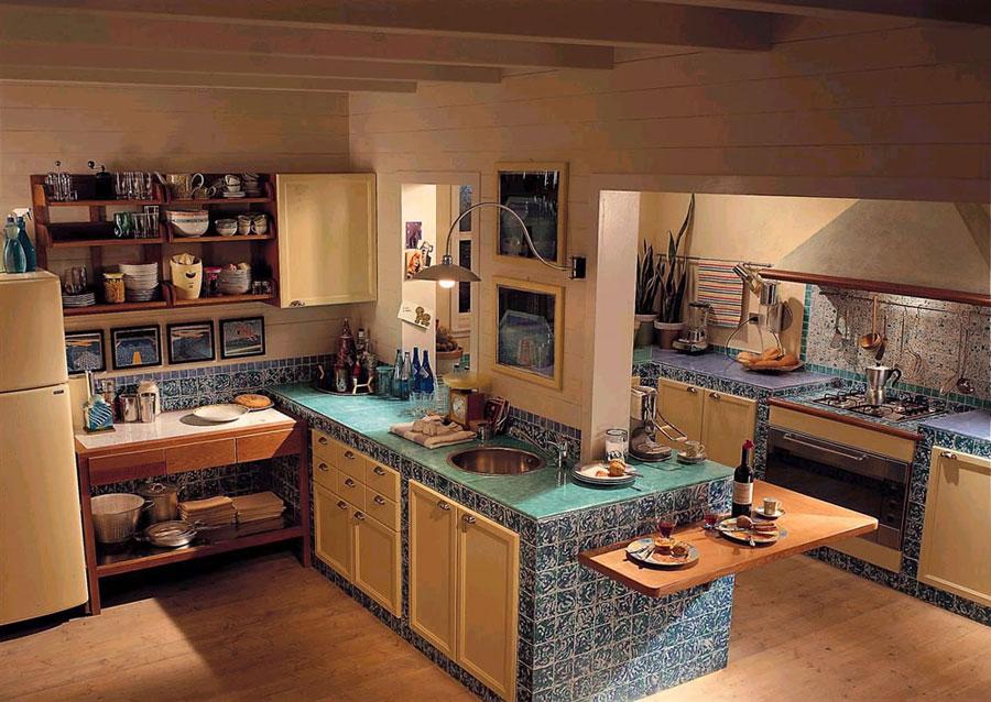 Cucine in muratura idee